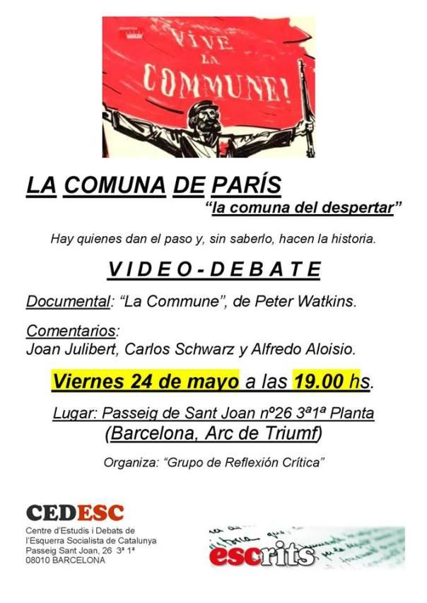Vídeo-debat sobre la Comuna de París